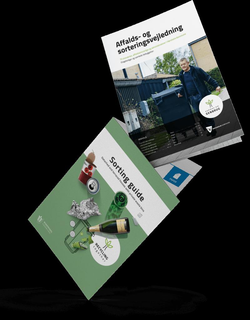 Affalds- og sorteringsvejledning til Hørsholm Kommune