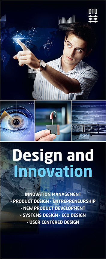 DTU Design and innovation banner