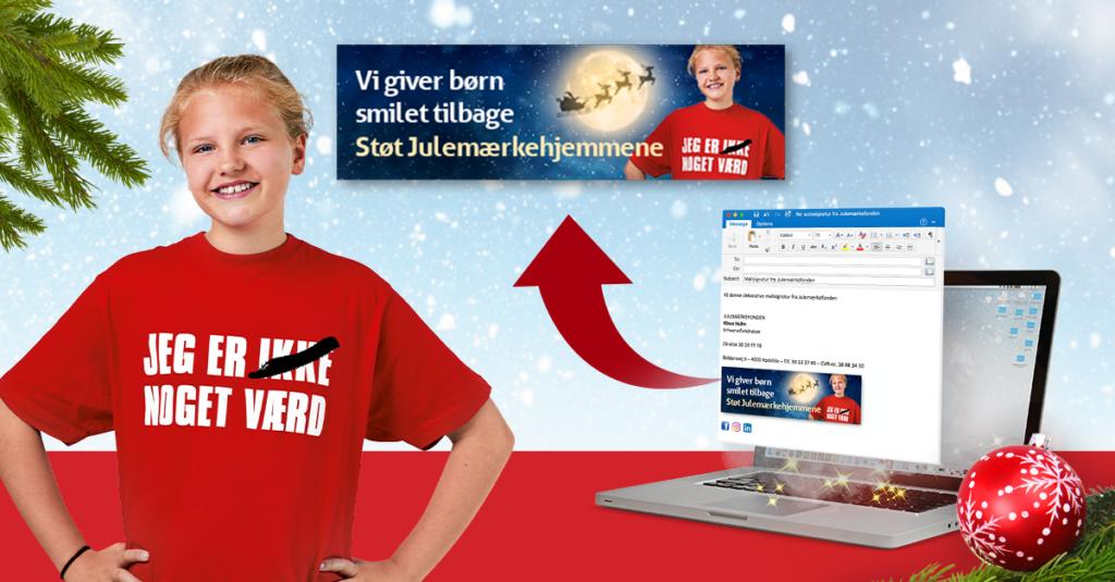 Julemærkefonden webbanner