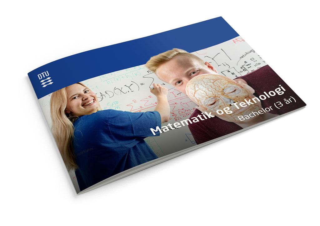 DTU Matematik og teknologi brochure DTU forside