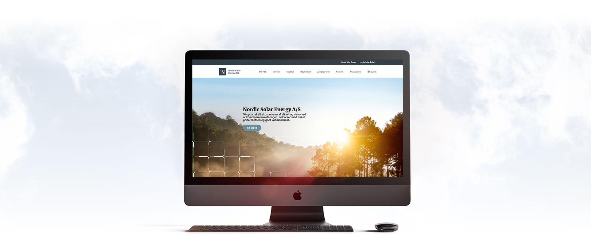NSE wordpress hjemmeside