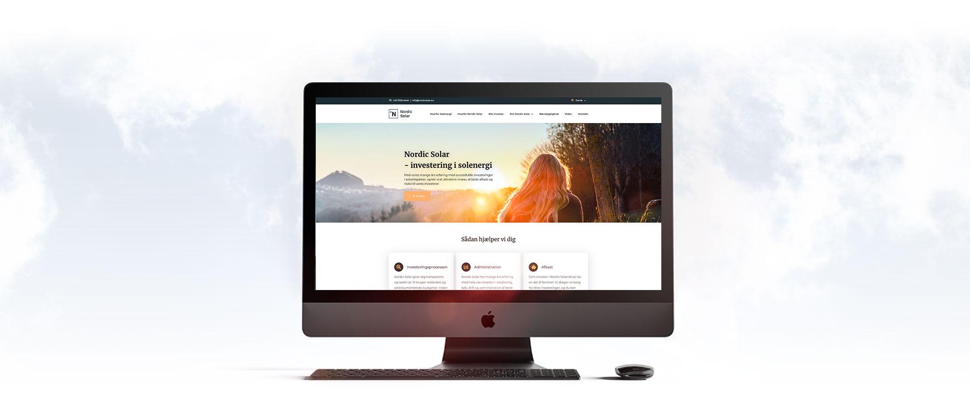 Nordic Solar website