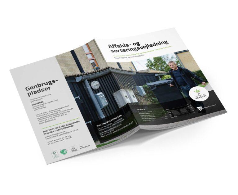 Affaldssortering vejledning Hørsholm Kommune