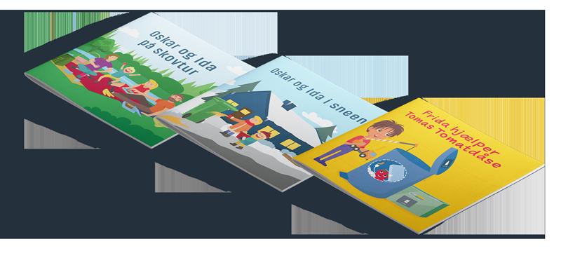 tre bøger om affaldssortering
