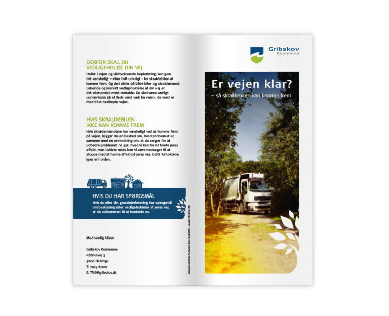 Gribskov adgangsforhold brochure
