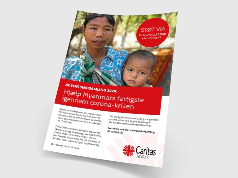 Caritas adventsindsamling 2020 plakat